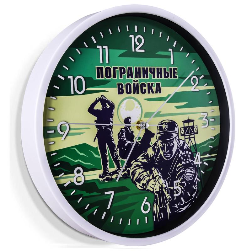 настенные часы с пограничной картинкой знаменитая