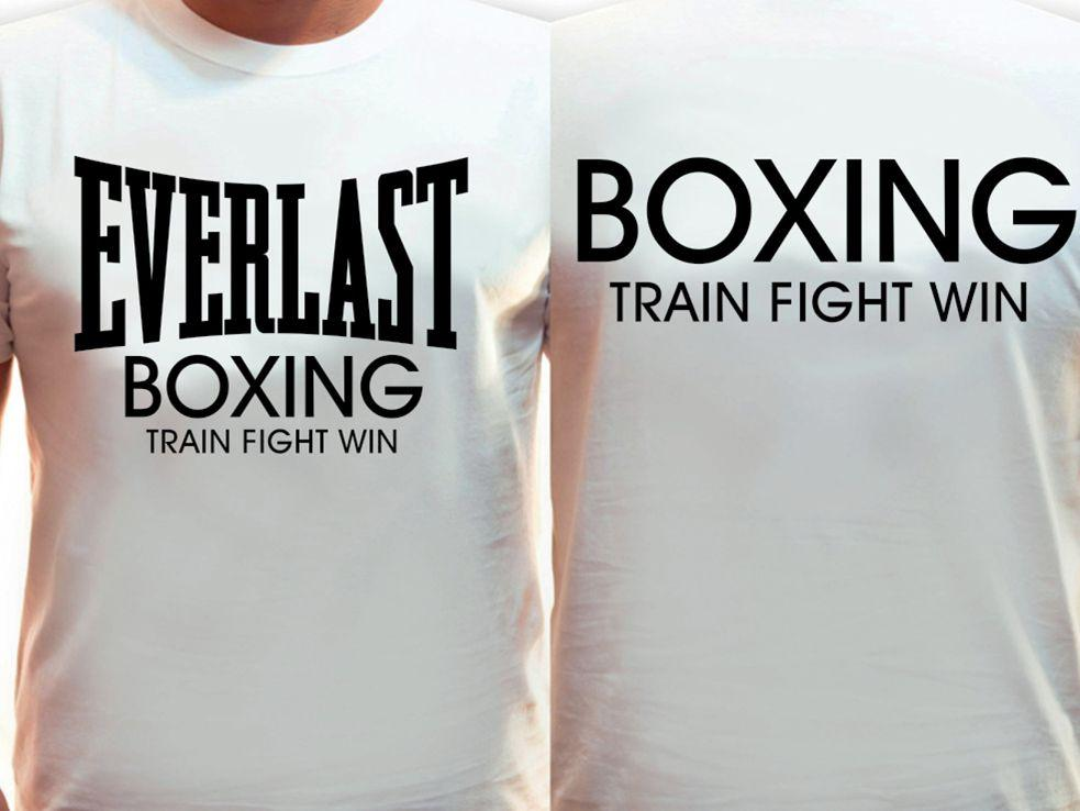 Футболка EVERLAST boxing (Белая)