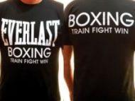 Футболка EVERLAST boxing (Черная)