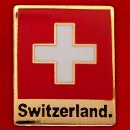 Значок Switzerland (zn-729)